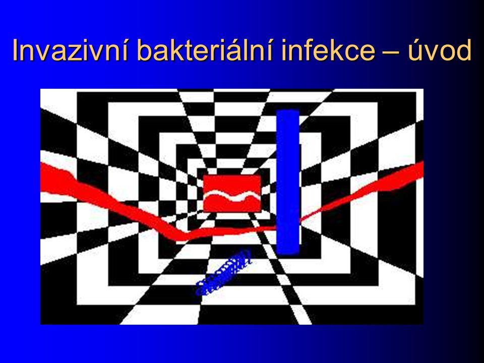 Invazivní bakteriální infekce – úvod