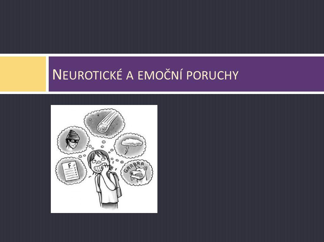 Neurotické a emoční poruchy