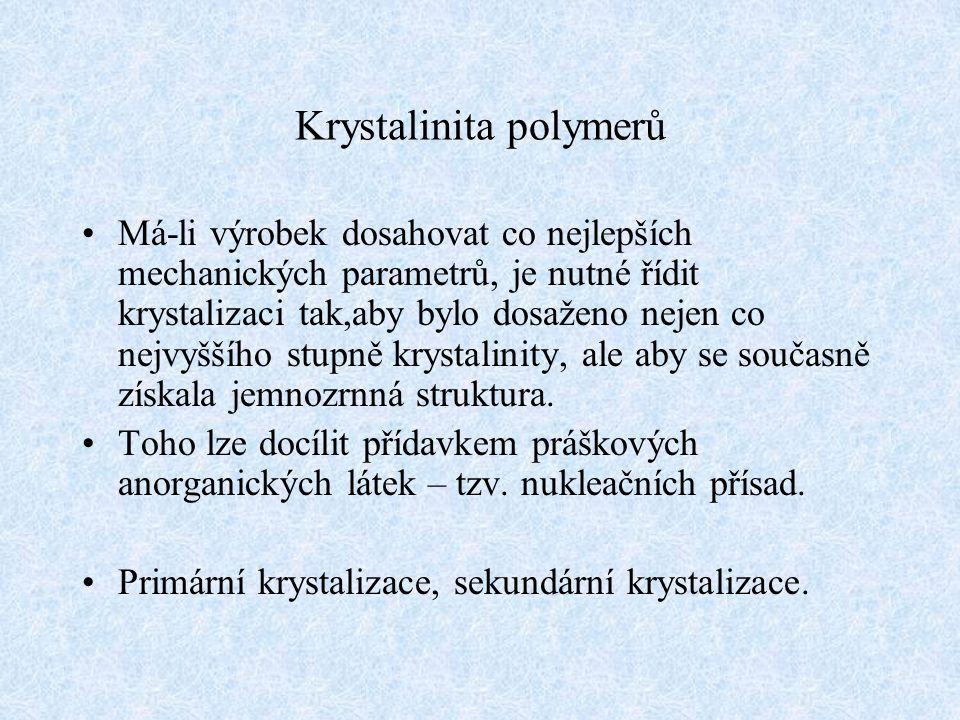 Krystalinita polymerů