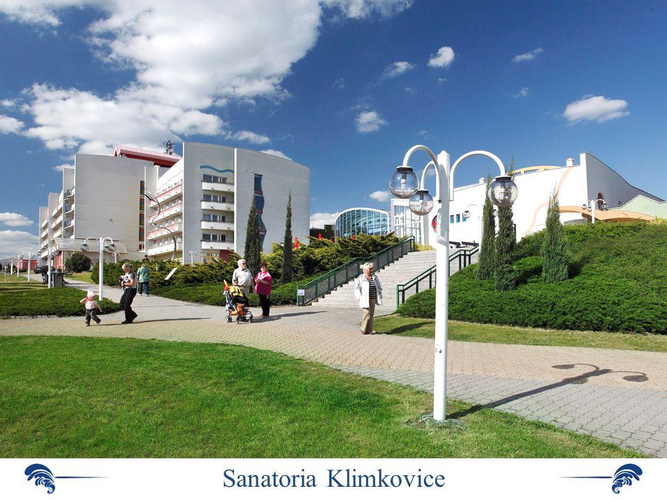Sanatoria Klimkovice – patří k nejmodernějším lázním v České republice
