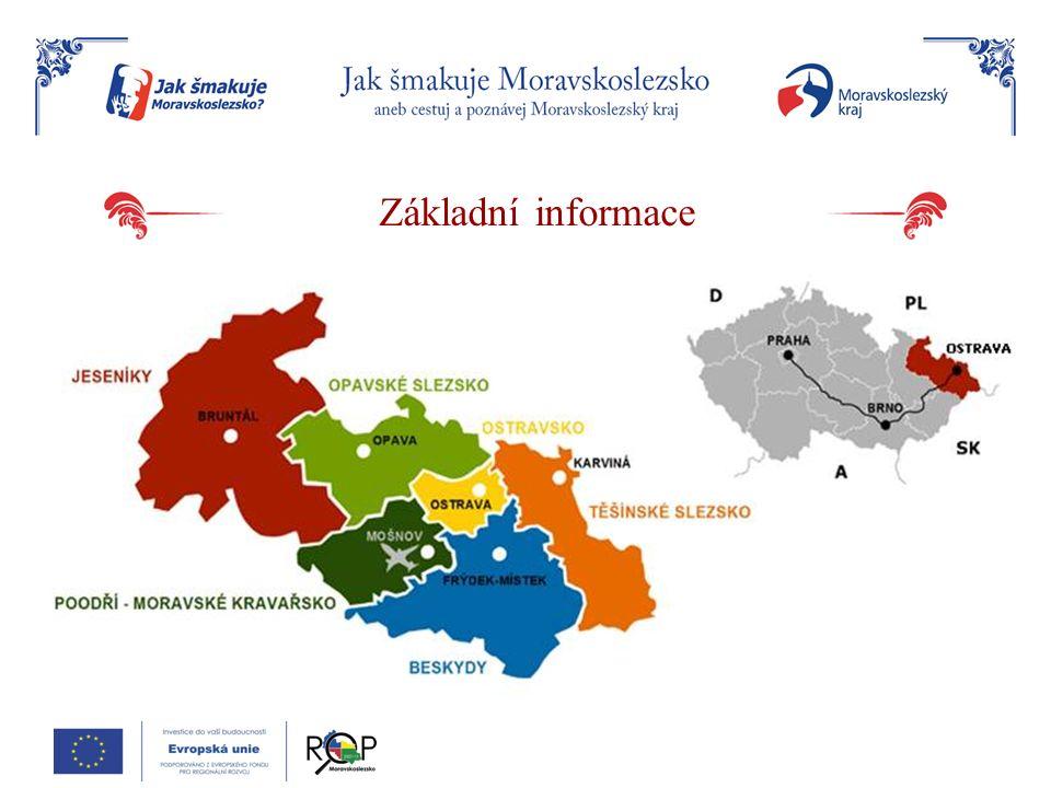 Základní informace Geografické informace Poloha kraje