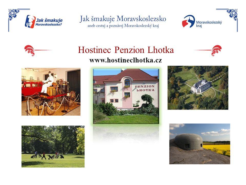 Hostinec Penzion Lhotka www.hostineclhotka.cz