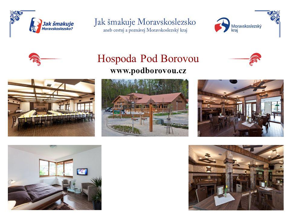 Hospoda Pod Borovou www.podborovou.cz