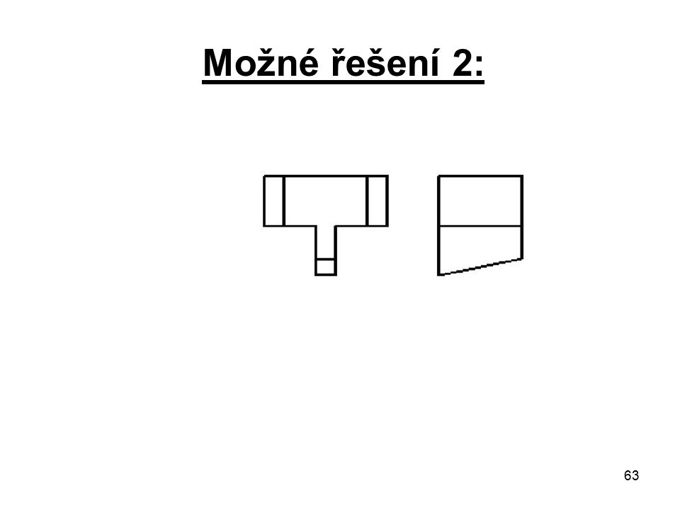Možné řešení 2: