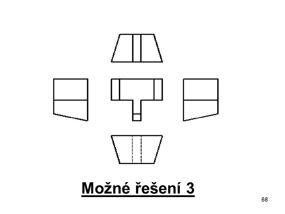 Možné řešení 3