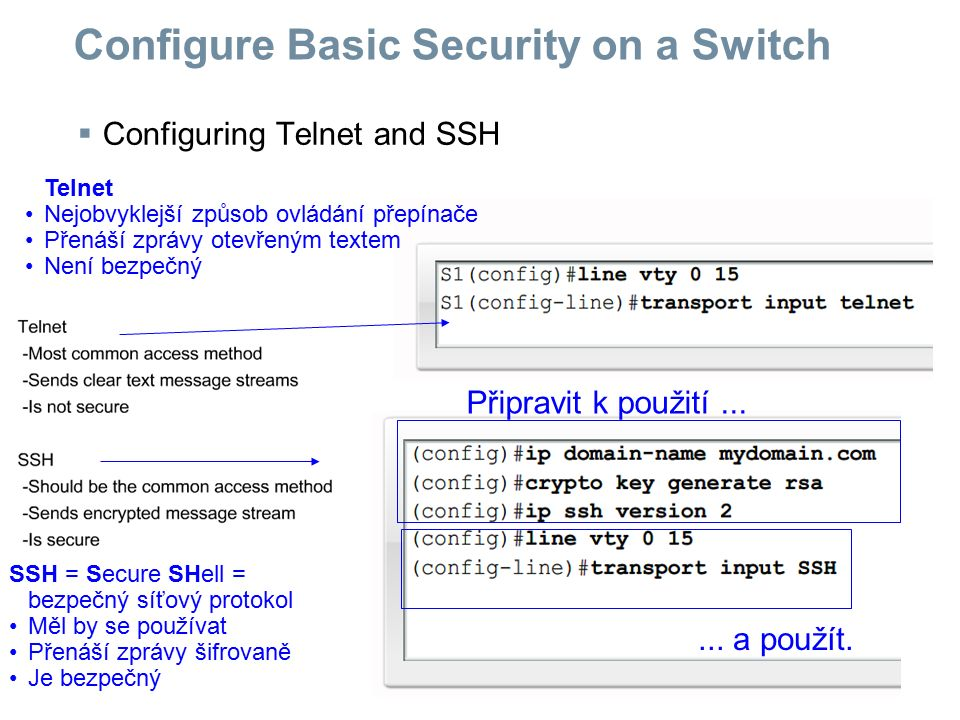 Configure Basic Security on a Switch