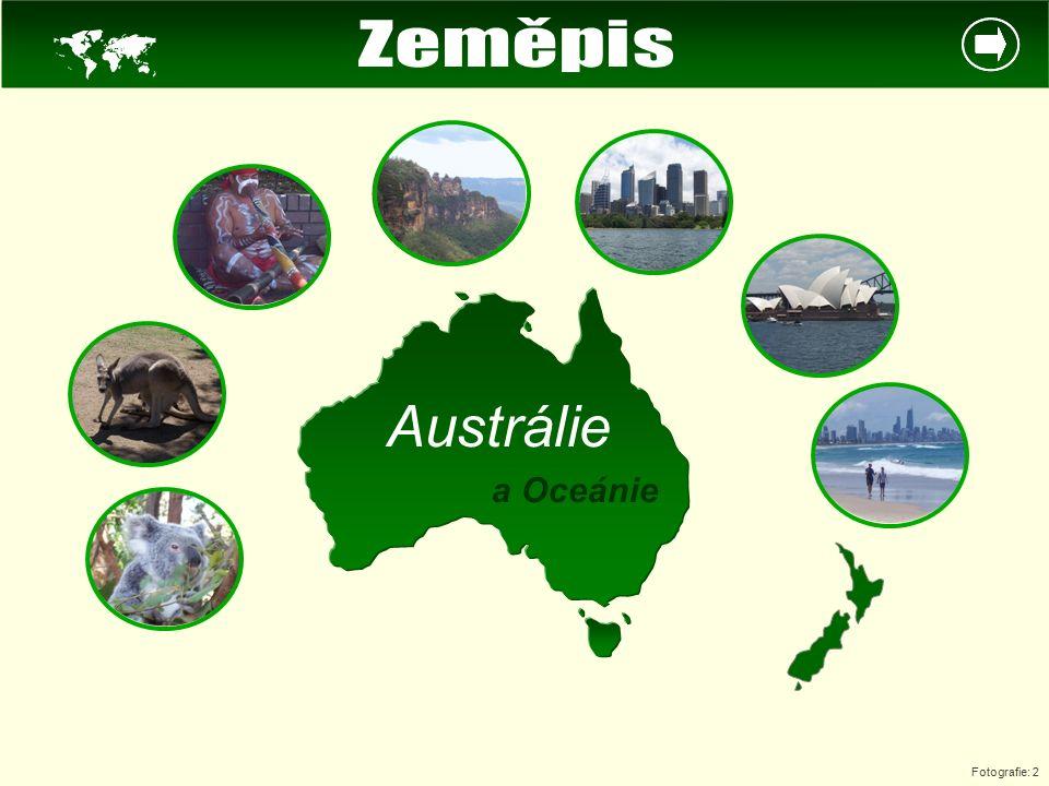  Zeměpis Austrálie a Oceánie Fotografie: 2