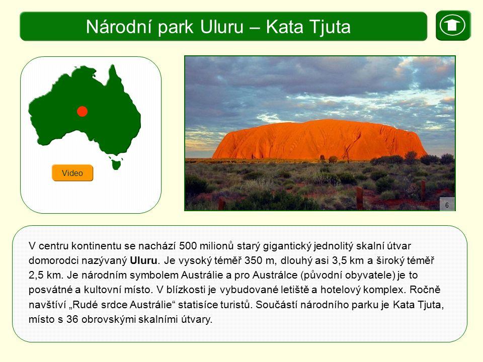 Národní park Uluru – Kata Tjuta