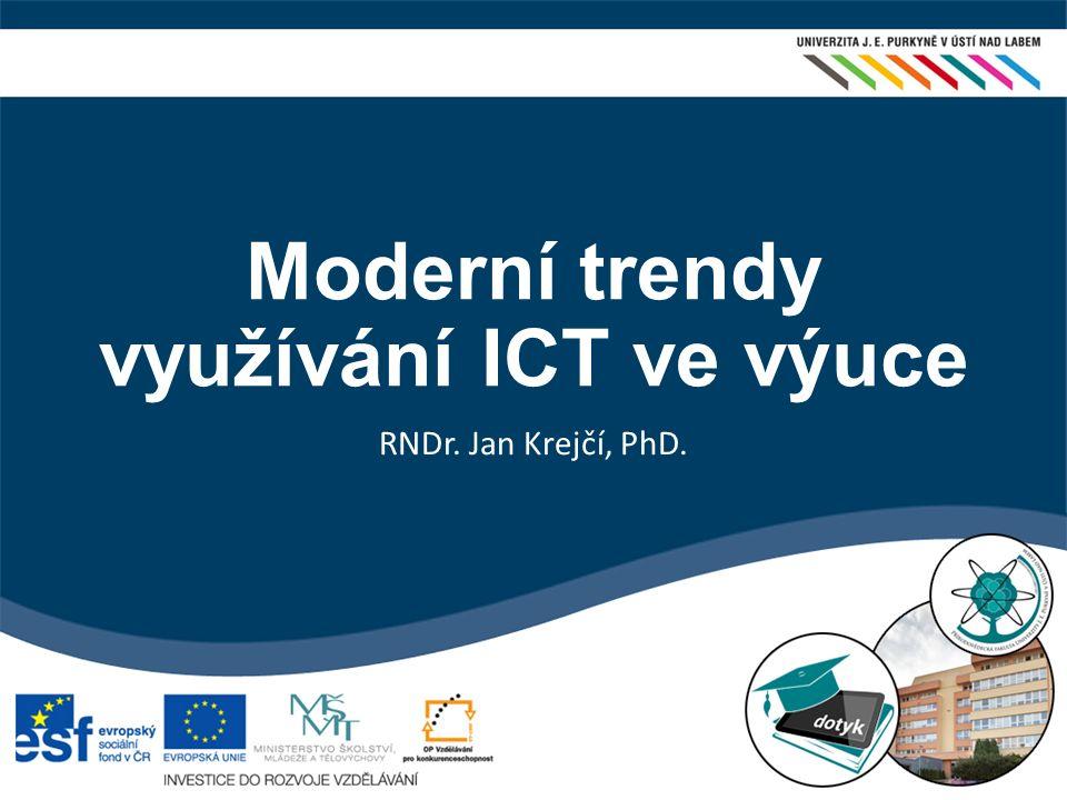 Moderní trendy využívání ICT ve výuce