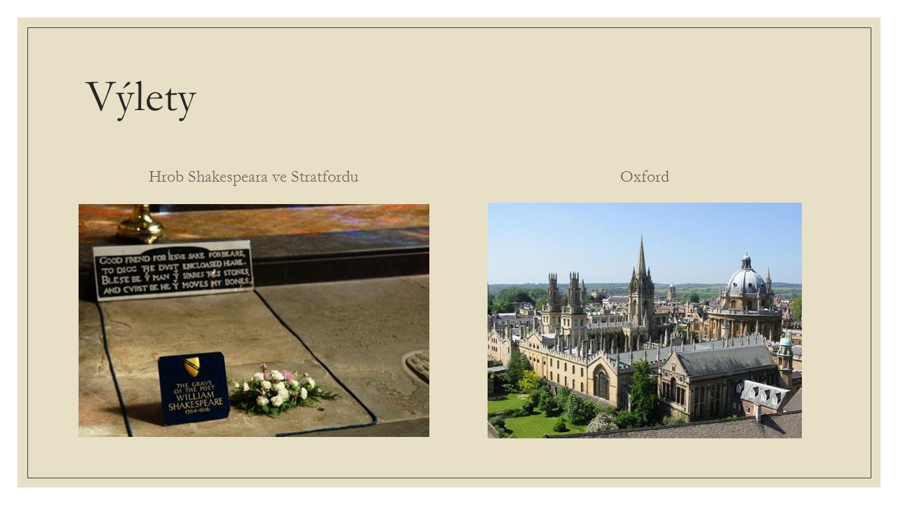 Hrob Shakespeara ve Stratfordu