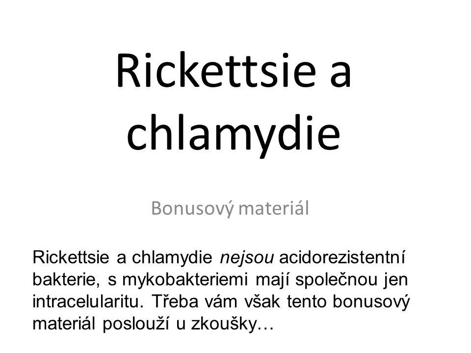 Rickettsie a chlamydie