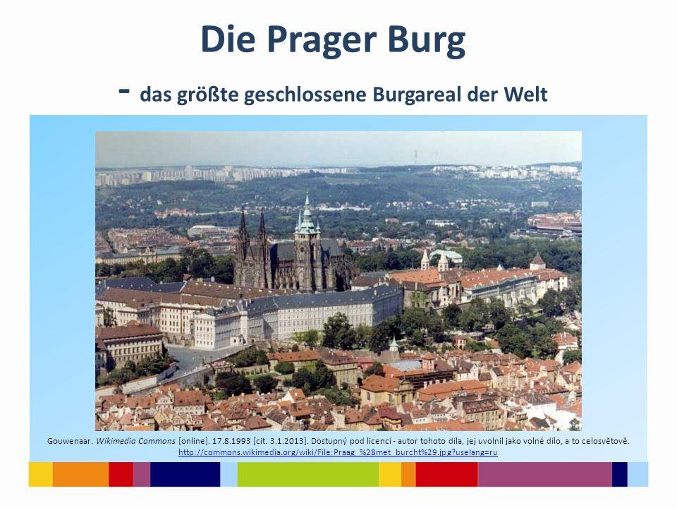 Die Prager Burg - das größte geschlossene Burgareal der Welt