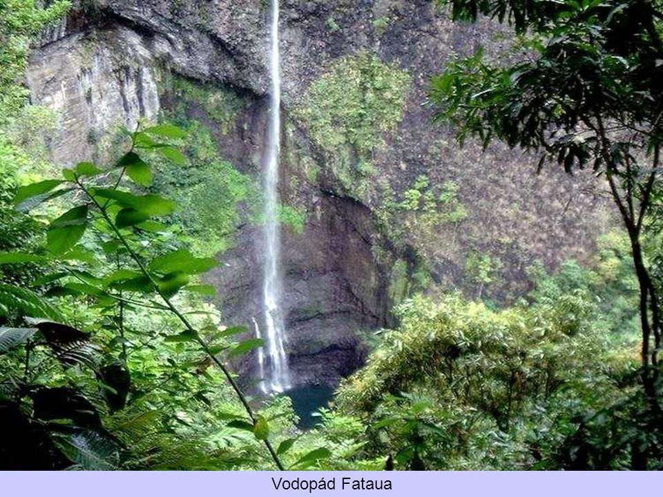 Vodopád Fataua