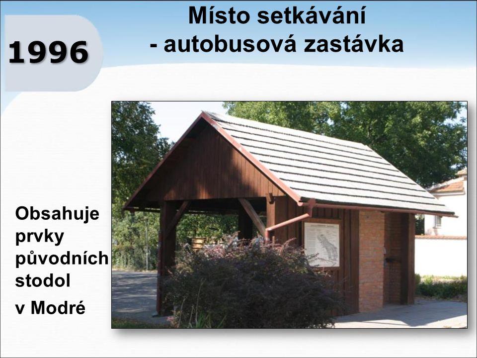 Místo setkávání - autobusová zastávka