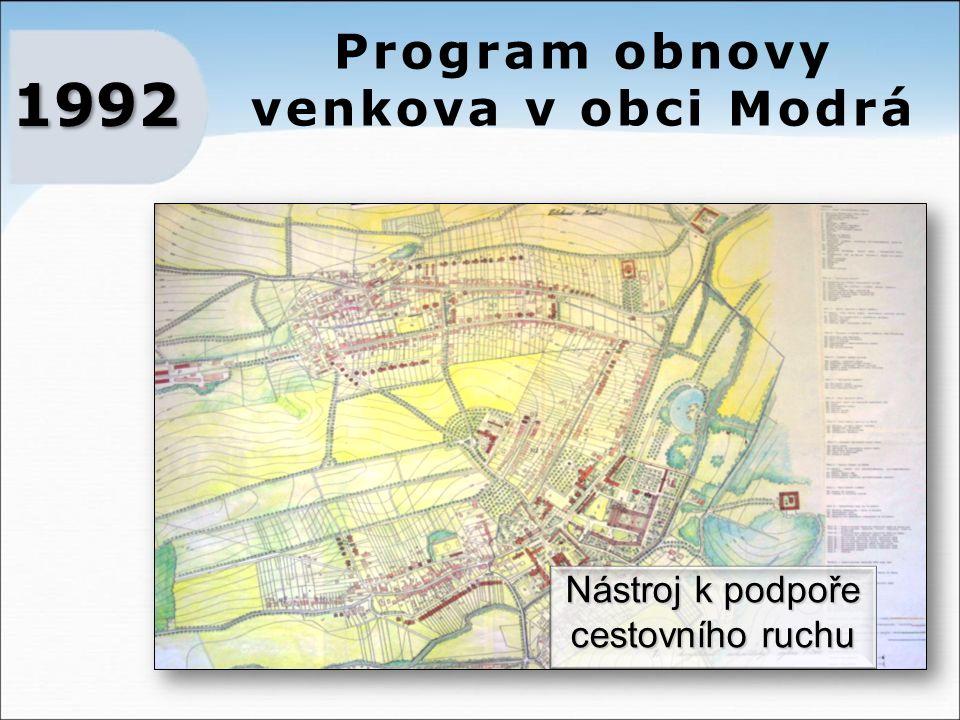 Program obnovy venkova v obci Modrá