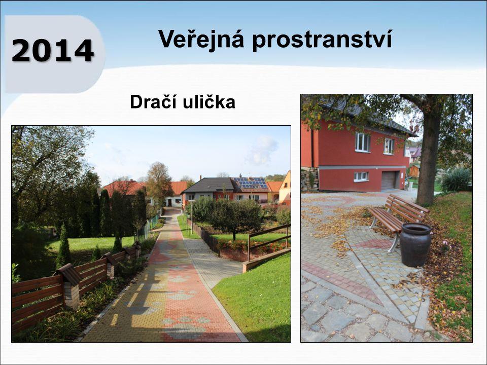 Veřejná prostranství 2014 Dračí ulička