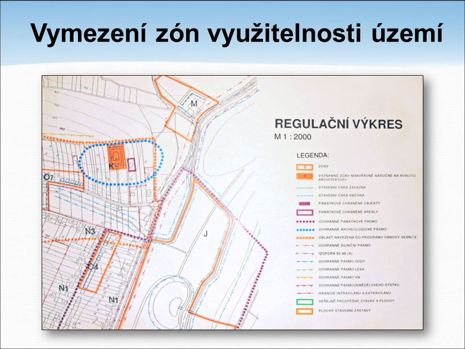 Vymezení zón využitelnosti území