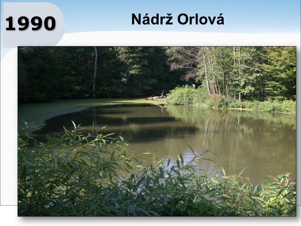1990 Nádrž Orlová
