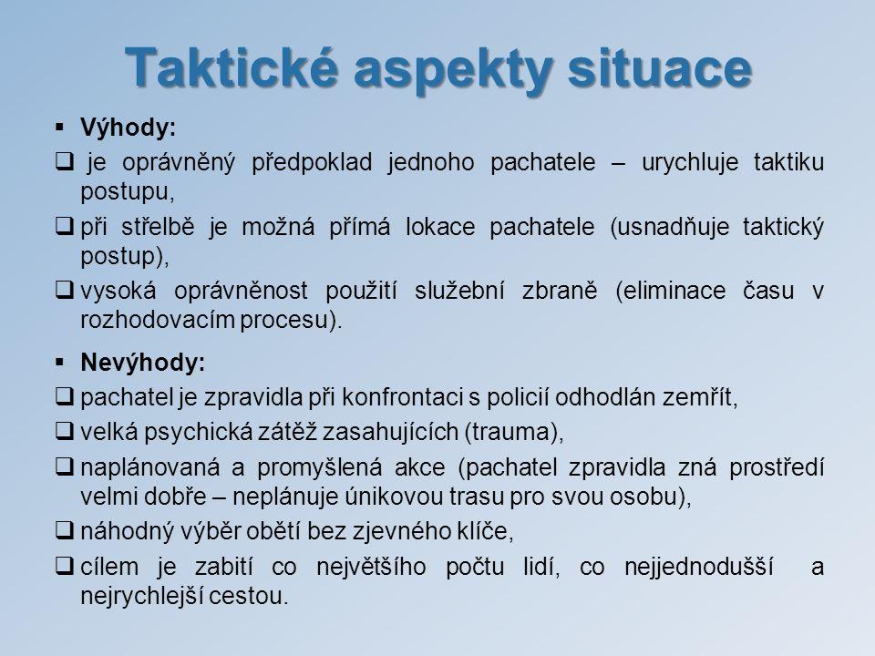 Taktické aspekty situace