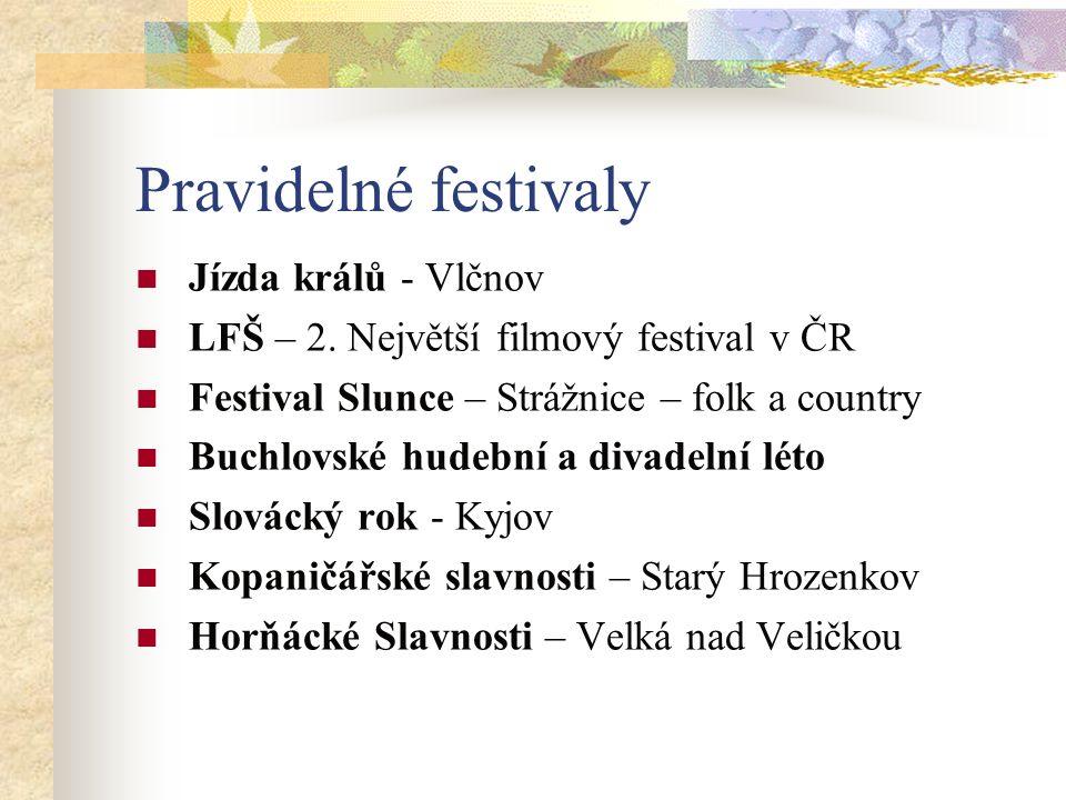 Pravidelné festivaly Jízda králů - Vlčnov