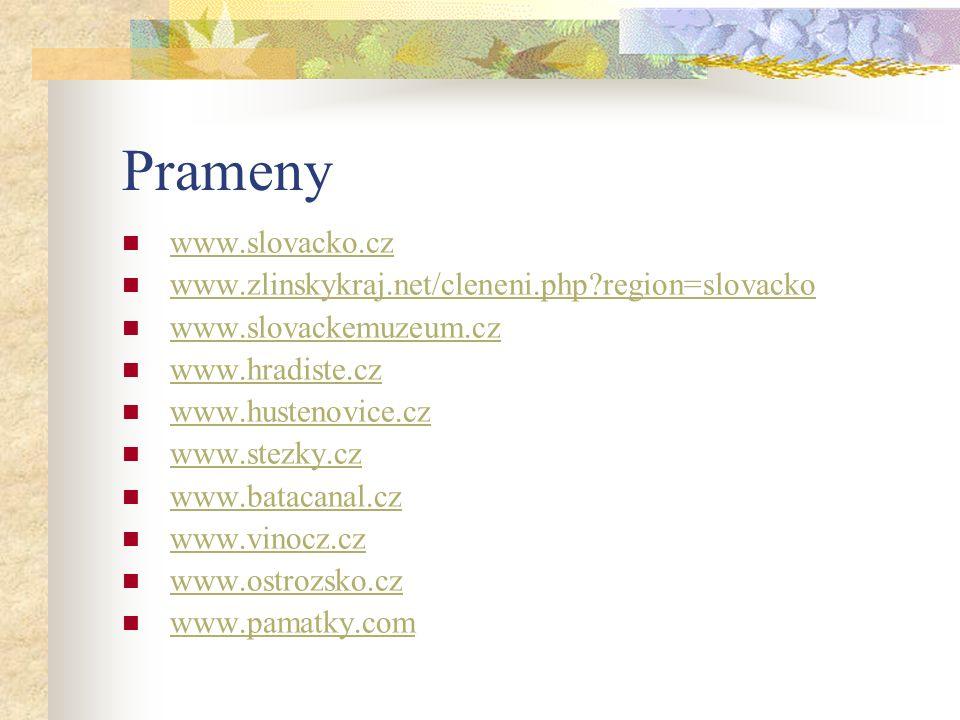Prameny www.slovacko.cz