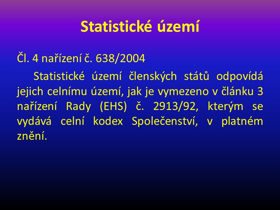 Statistické území