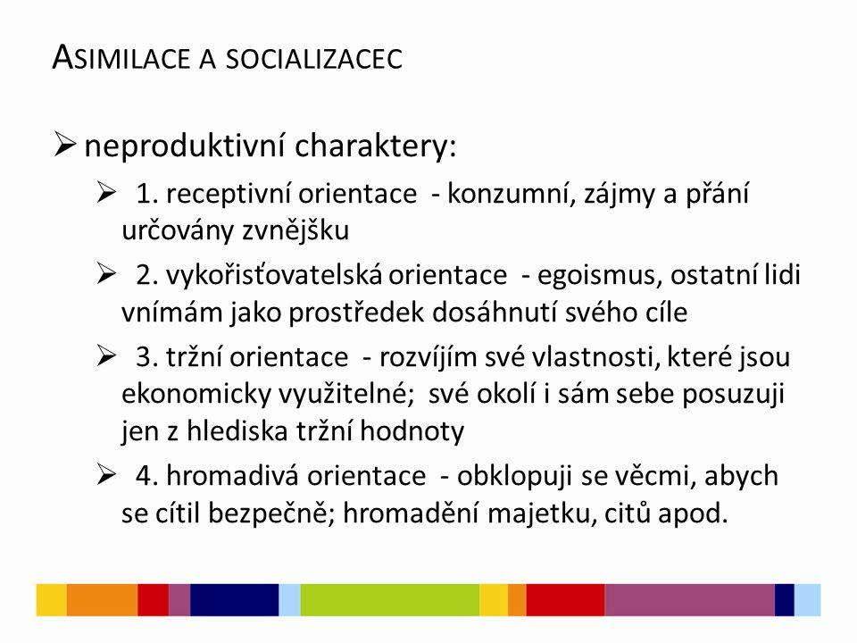 Asimilace a socializacec
