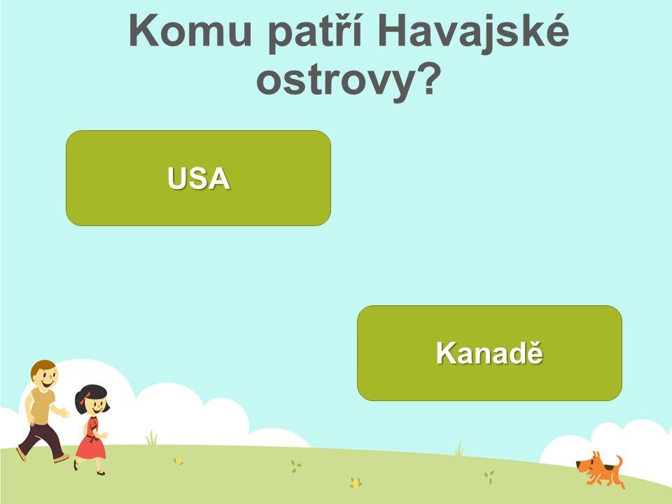 Komu patří Havajské ostrovy