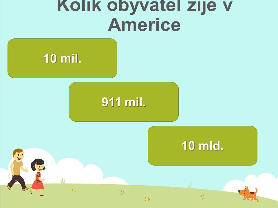 Kolik obyvatel žije v Americe