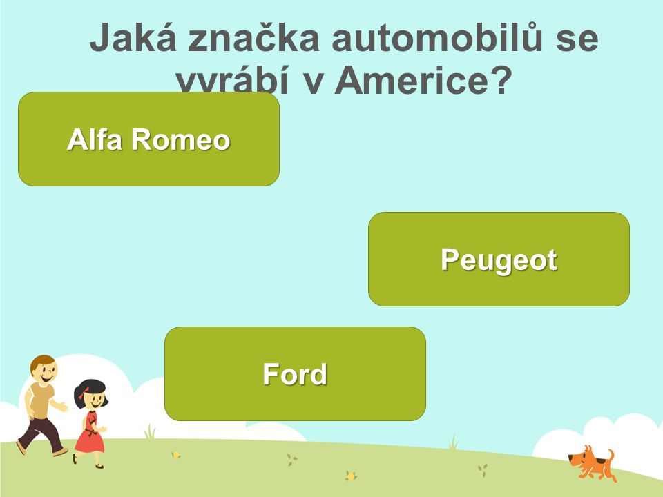Jaká značka automobilů se vyrábí v Americe