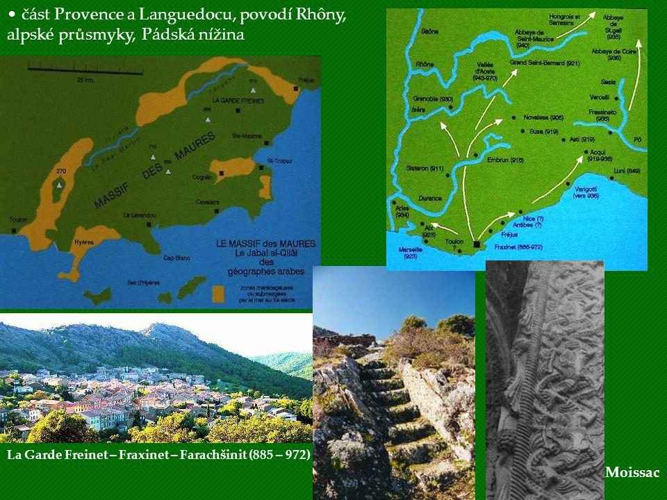 část Provence a Languedocu, povodí Rhôny,
