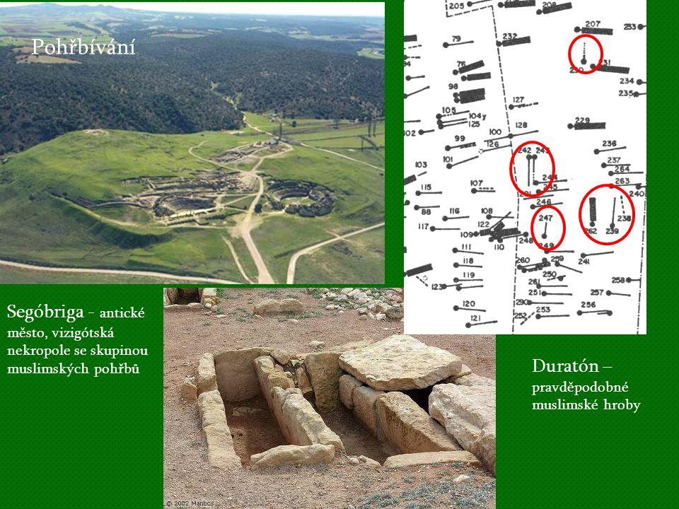 Pohřbívání Segóbriga - antické město, vizigótská Duratón –