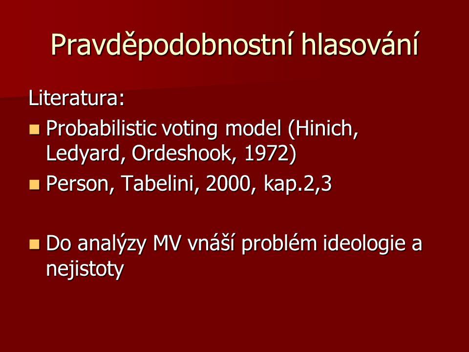 Pravděpodobnostní hlasování