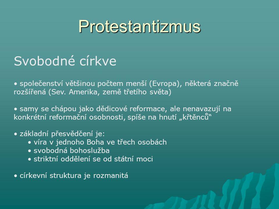 Protestantizmus Svobodné církve