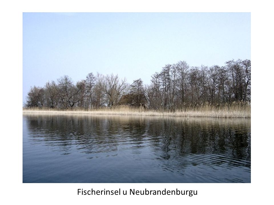 Fischerinsel u Neubrandenburgu
