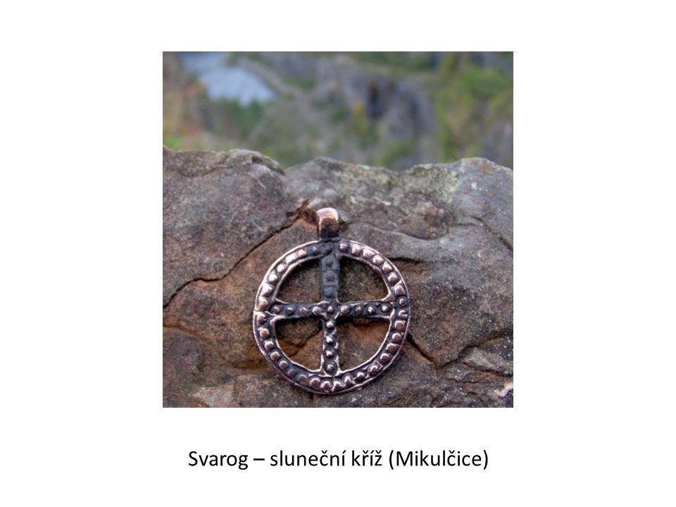 Svarog – sluneční kříž (Mikulčice)