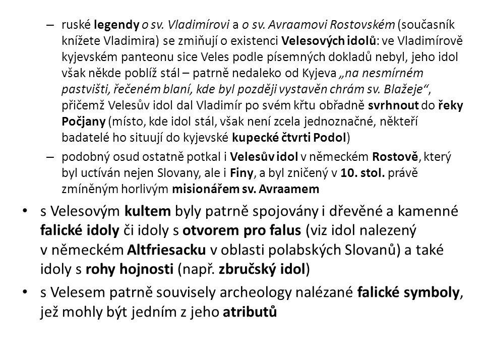 ruské legendy o sv. Vladimírovi a o sv