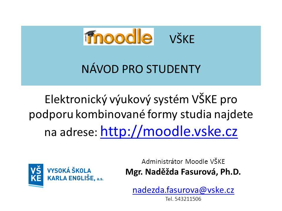 Mgr. Naděžda Fasurová, Ph.D.