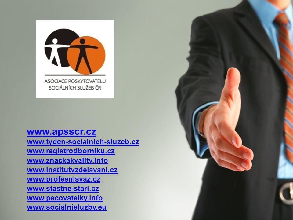 www.apsscr.cz www.tyden-socialnich-sluzeb.cz www.registrodborniku.cz