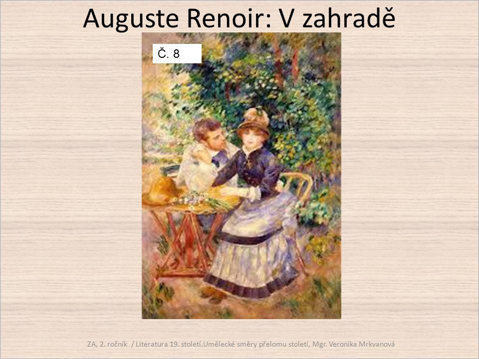 Auguste Renoir: V zahradě