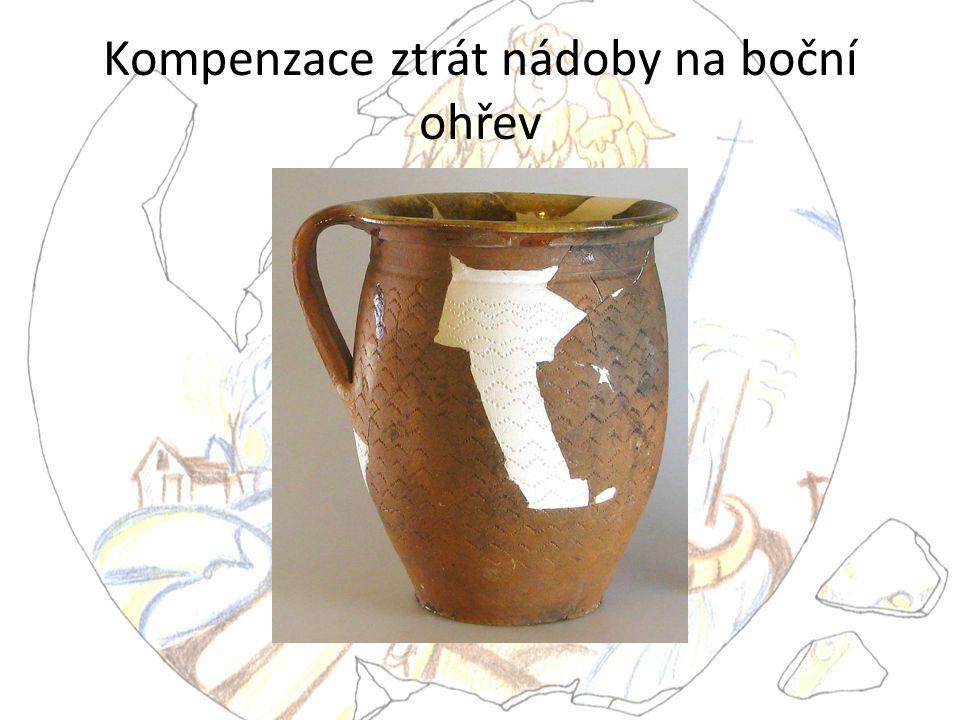 Kompenzace ztrát nádoby na boční ohřev