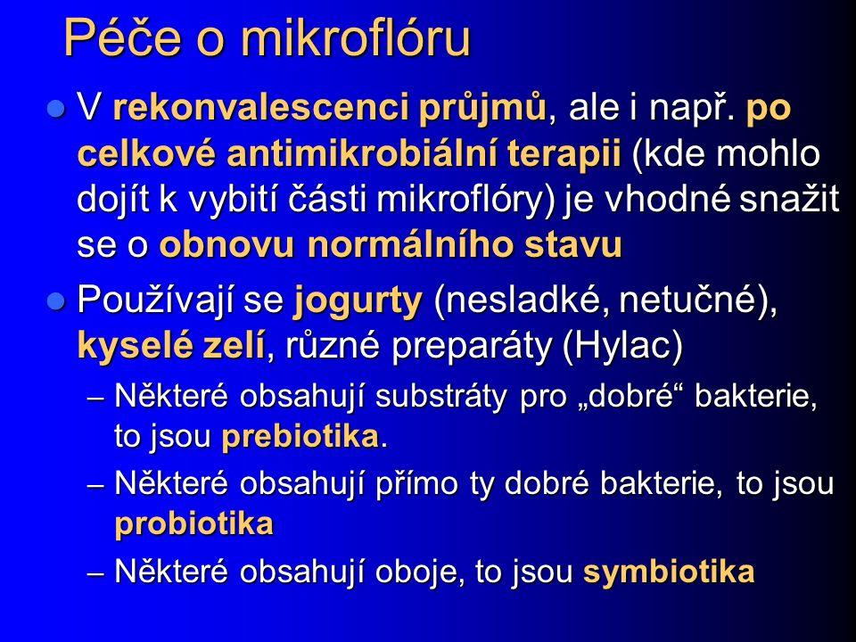 Péče o mikroflóru