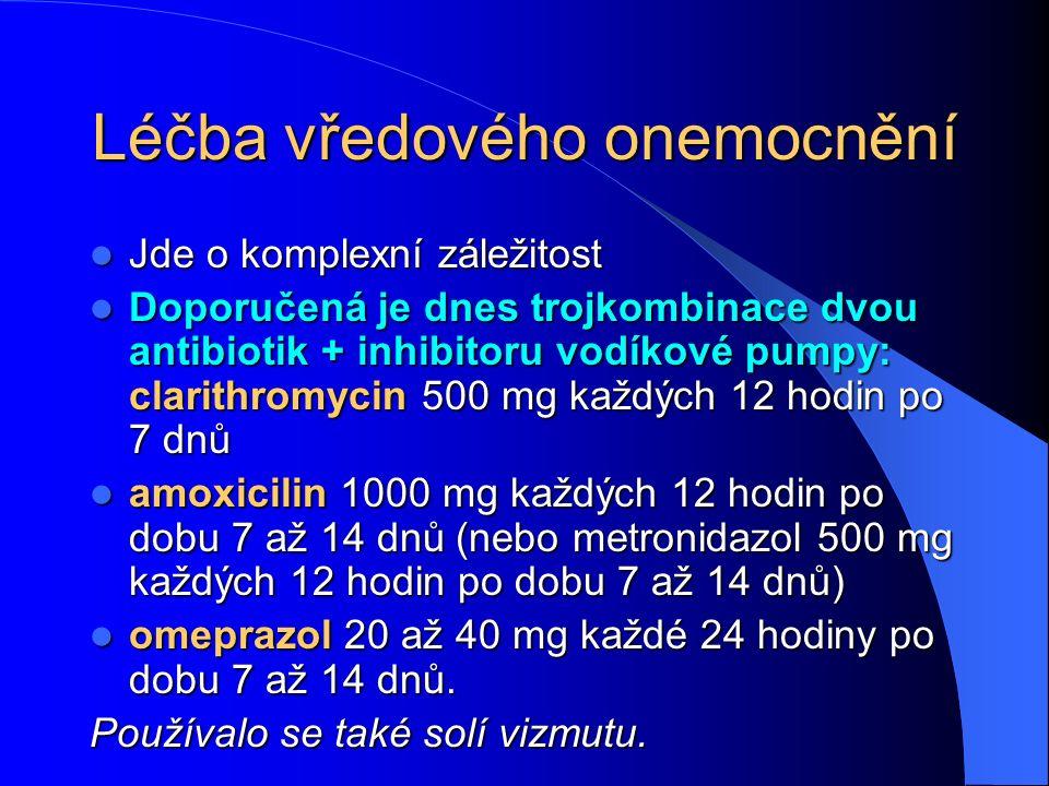 Léčba vředového onemocnění