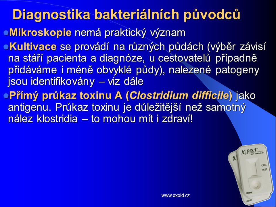 Diagnostika bakteriálních původců