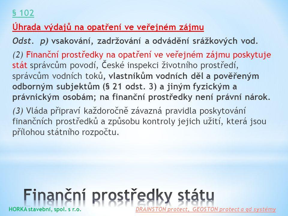 Finanční prostředky státu