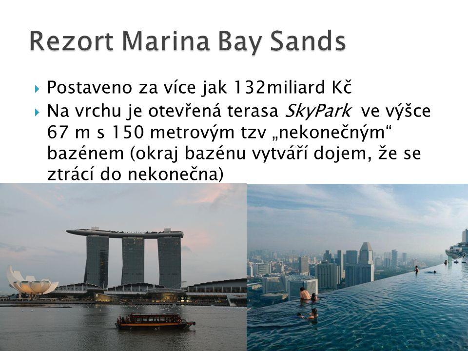 Rezort Marina Bay Sands