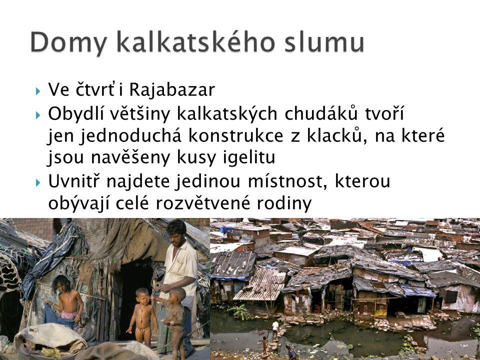 Domy kalkatského slumu