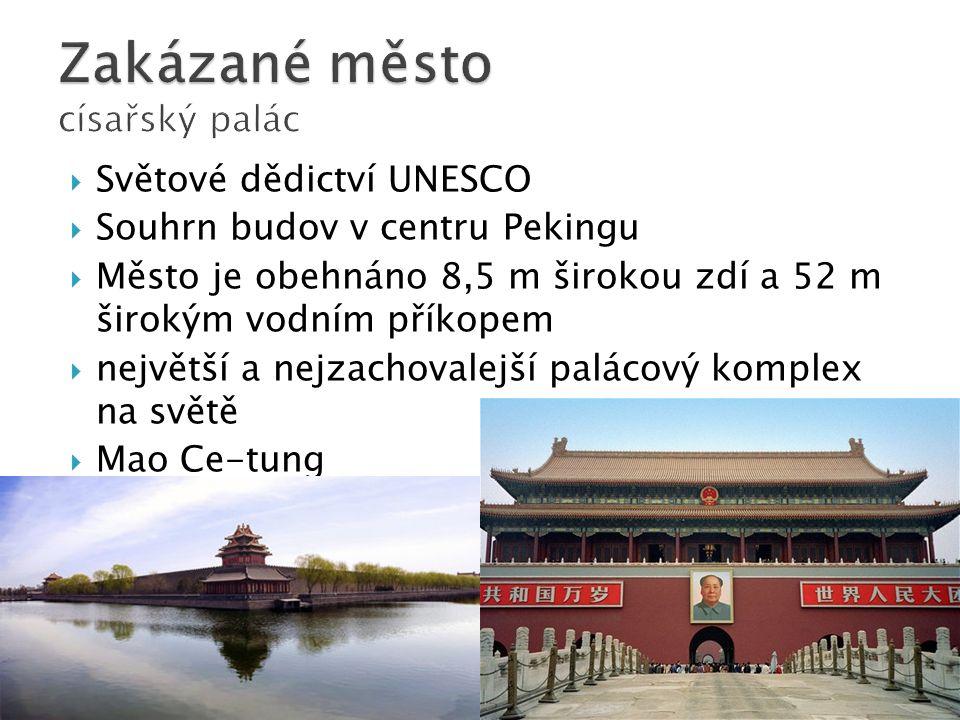 Zakázané město císařský palác