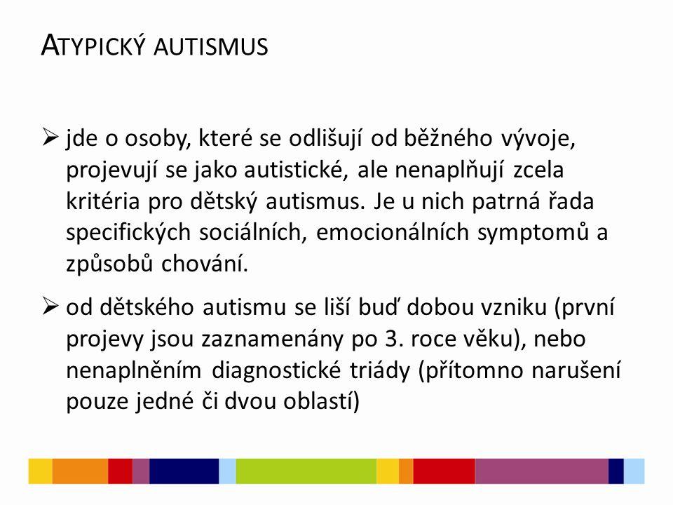 Atypický autismus