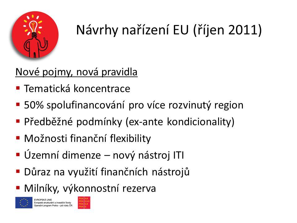 Návrhy nařízení EU (říjen 2011)